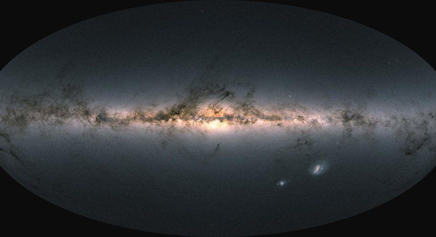 gaia espace galaxie univers découverte cartographie étoiles