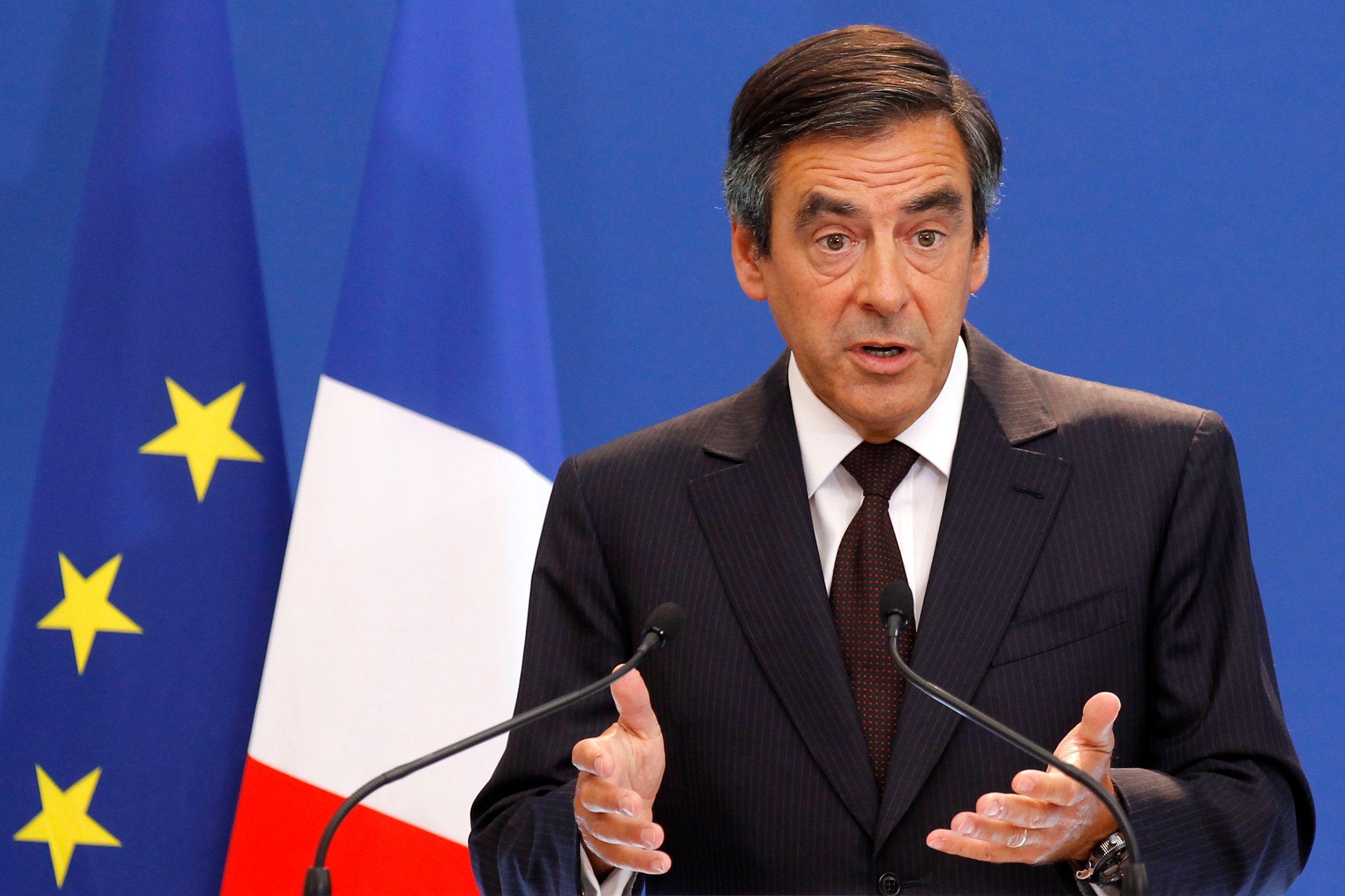 """François Fillon était l'invité de l'émission """"Des Paroles et des Actes"""""""
