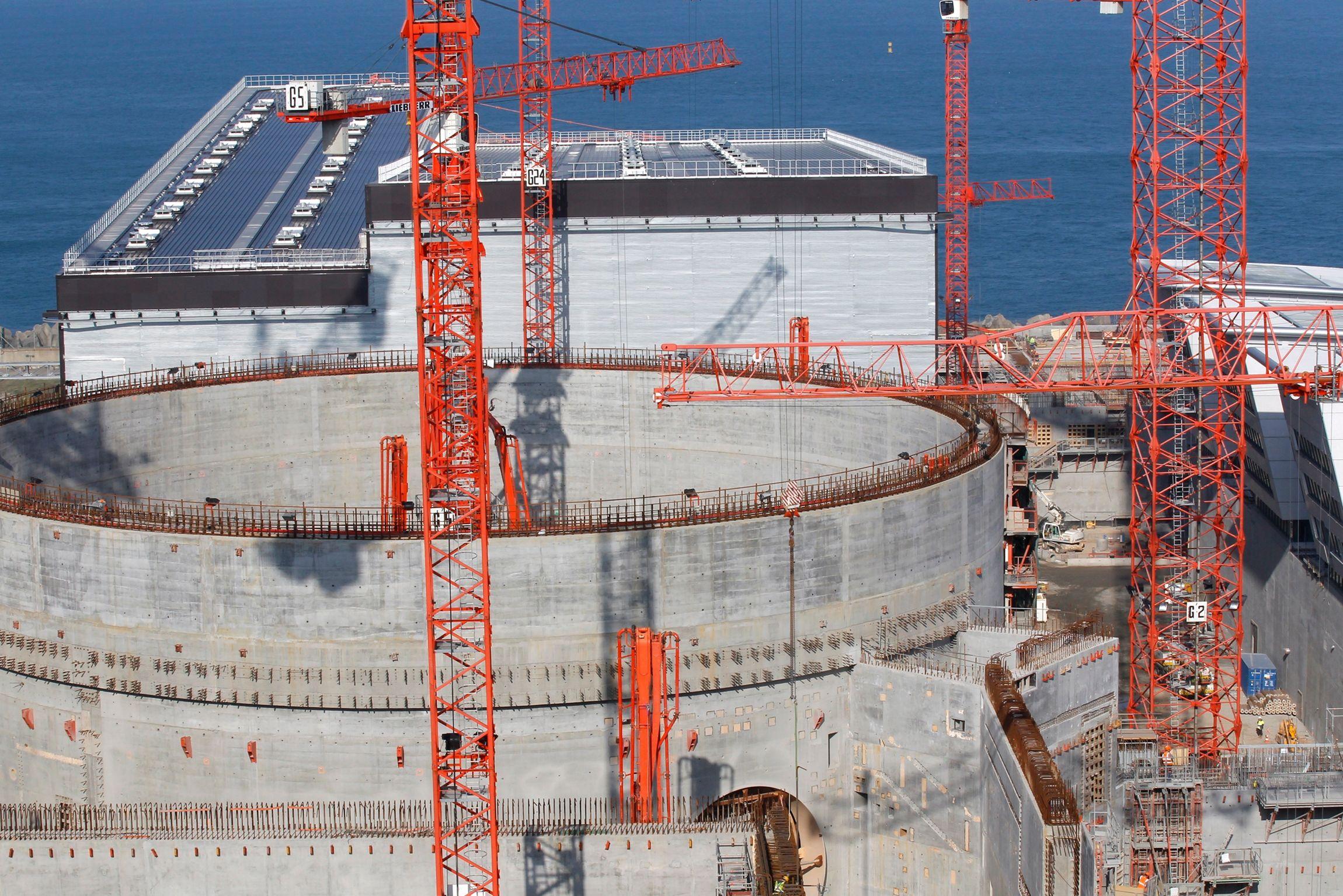 l'EPR de Flamanville ne sera pas opérationnel avant 2017.
