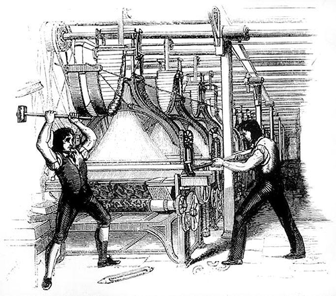 Ce que l'exemple des Luddites du 19è siècle peut nous enseigner sur la révolution robotique à venir