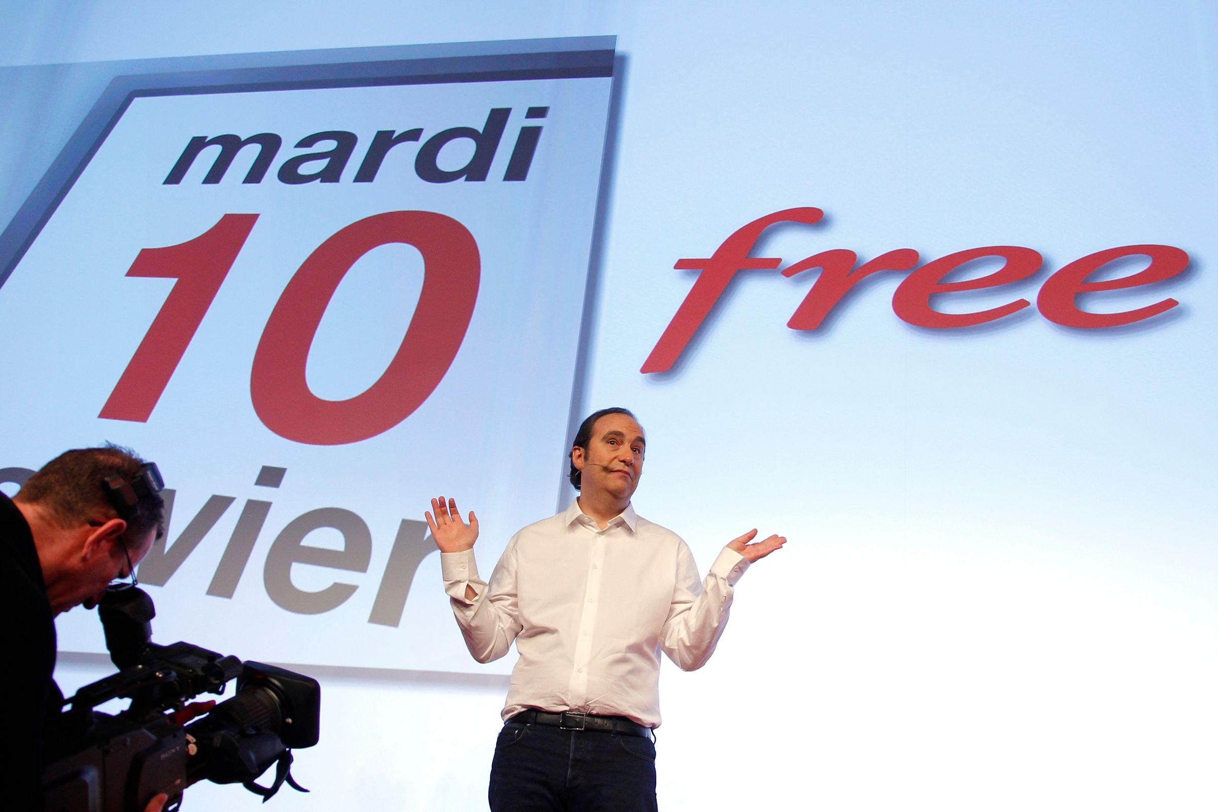 Free mobile : 7,4 millions d'abonnés et 11% du marché français