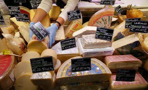 Le fromage ne manque pas de variétés