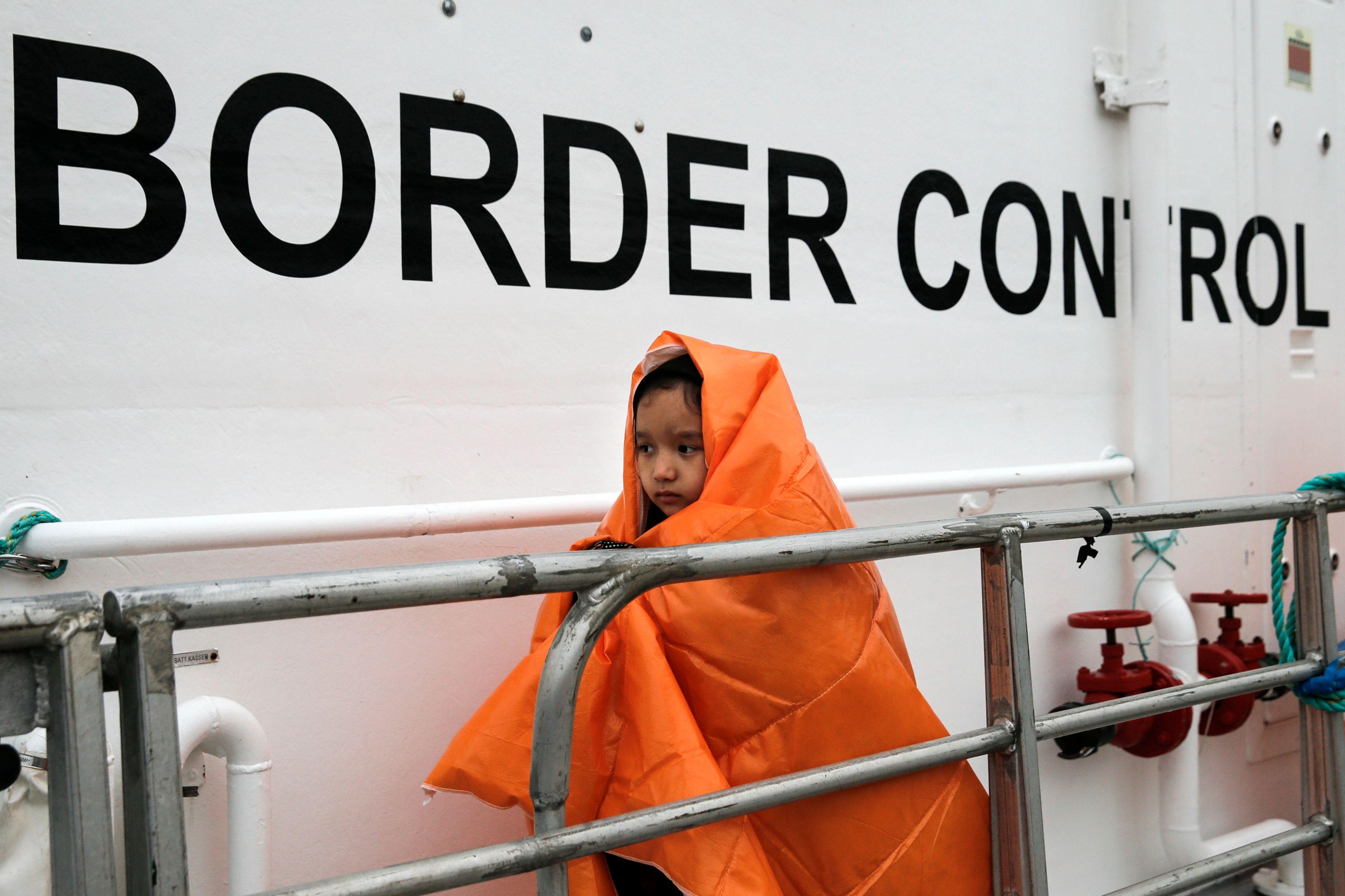 Avis à tous ceux qui pensent qu'il n'est plus possible d'avoir de frontières aujourd'hui : voici la part des efforts menés par l'UE dans la gestion de la crise des migrants qui se résorbe aujourd'hui