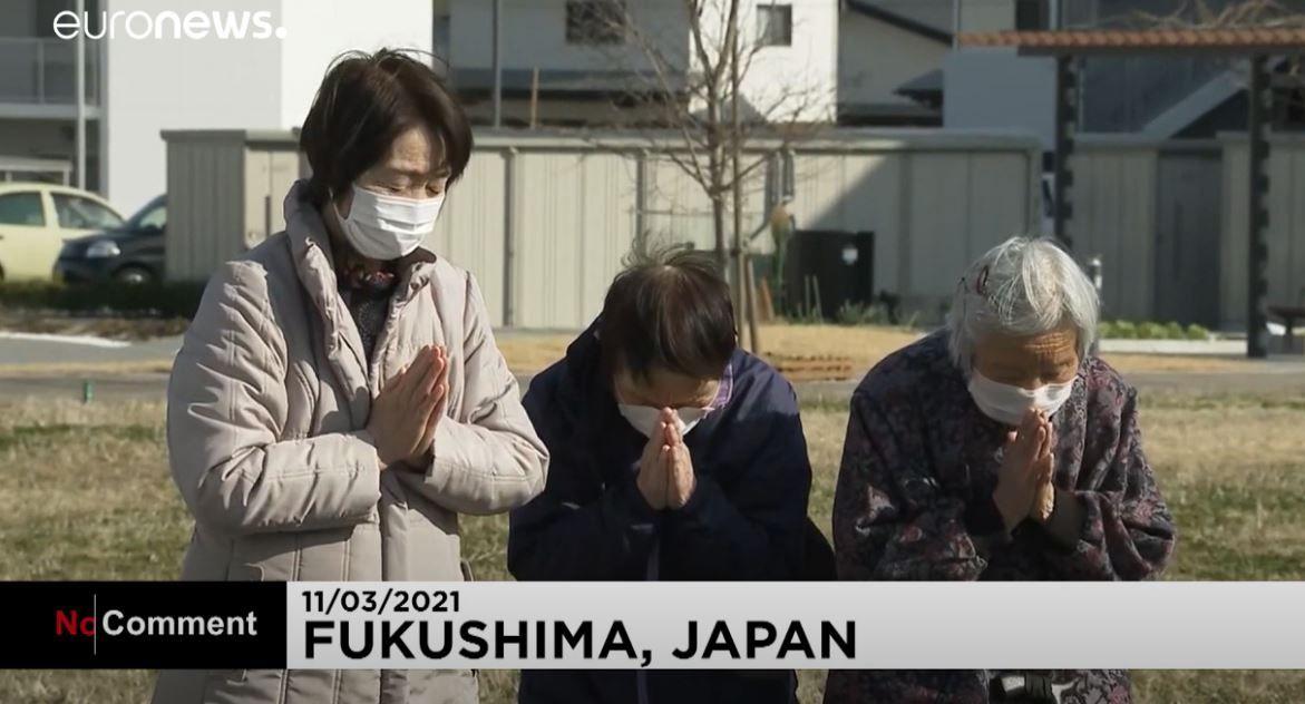 Le Japon a observé une minute de silence en hommage aux victimes du 11 mars 2011, disparus dans la triple catastrophe de Fukushima.