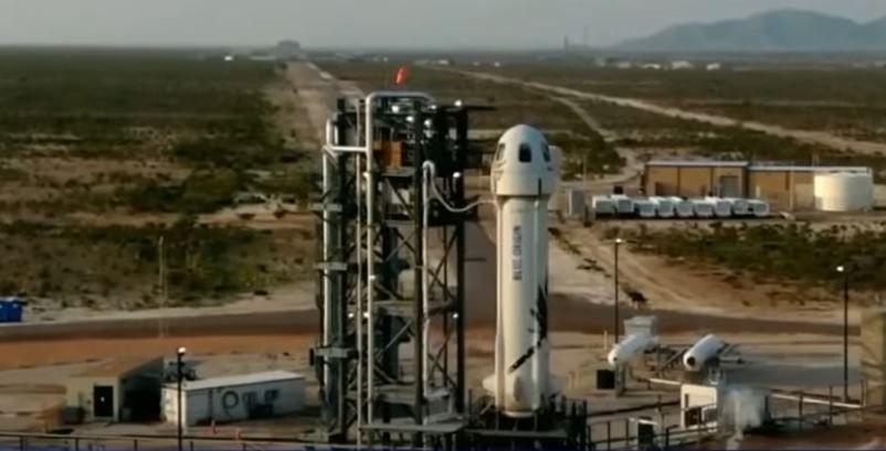 Le milliardaire Jeff Bezos et trois autres passagers de la capsule Blue Origin ont effectué un vol dans l'espace ce mardi 20 juillet.