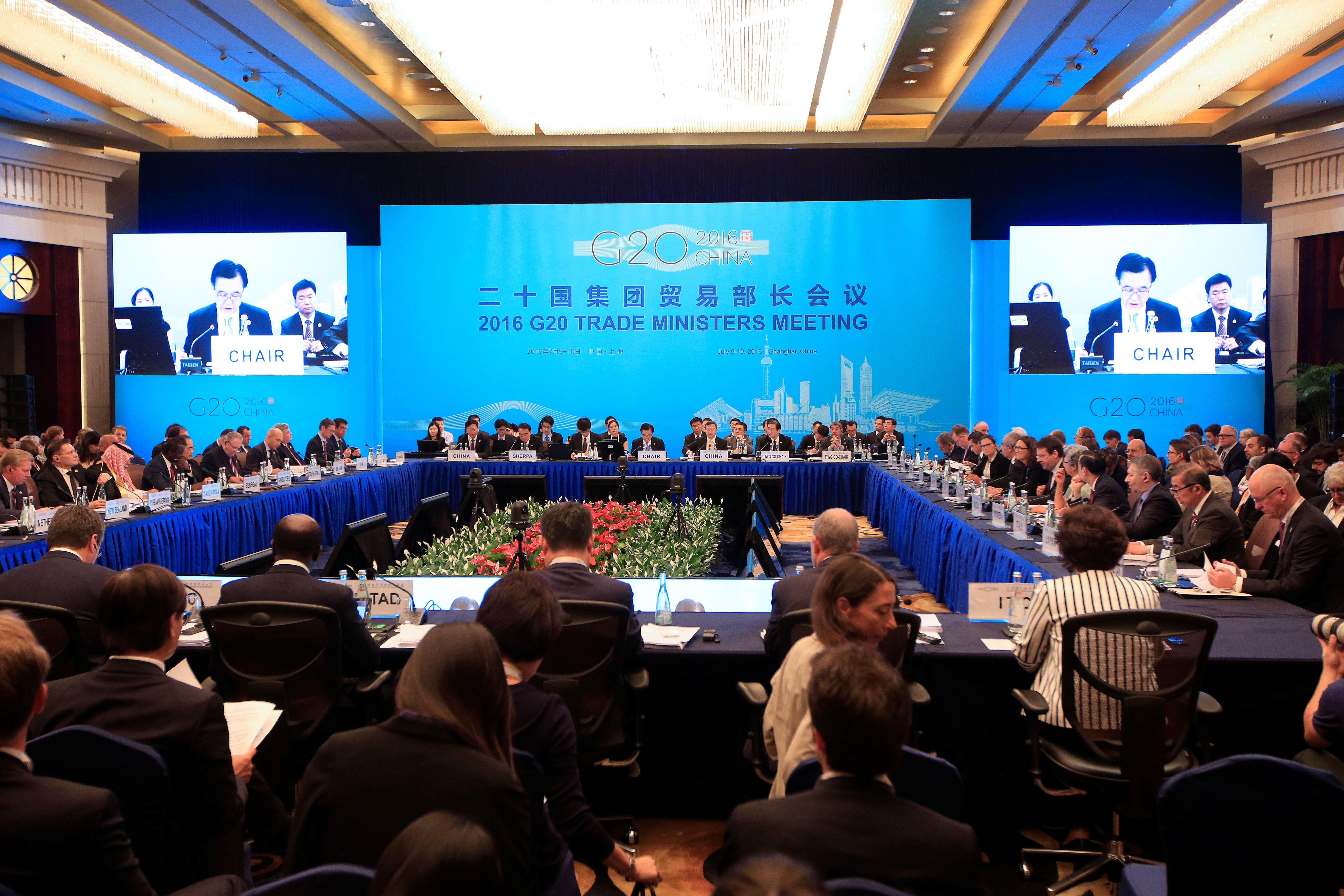 G20 de Shanghai : le commerce mondial à l'agenda