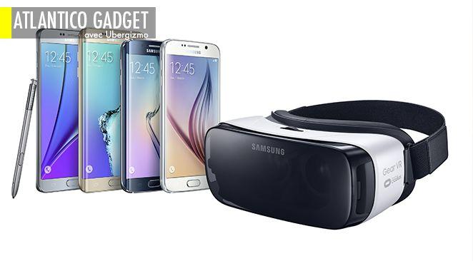 Samsung rend la réalité virtuelle accessible pour 99$.