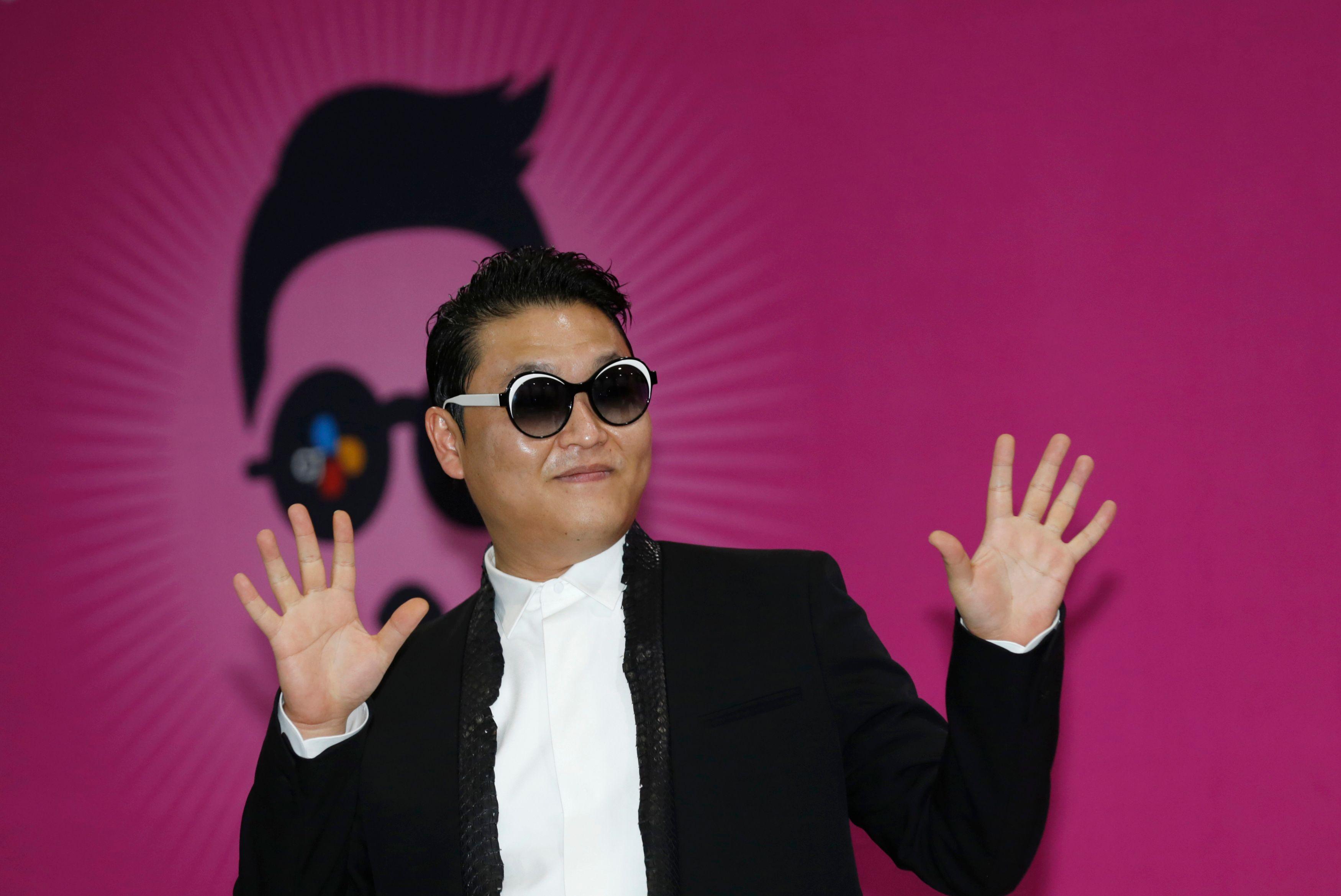 """Psy, le chanteur de """"Gangnam Style"""" doit être ravi."""