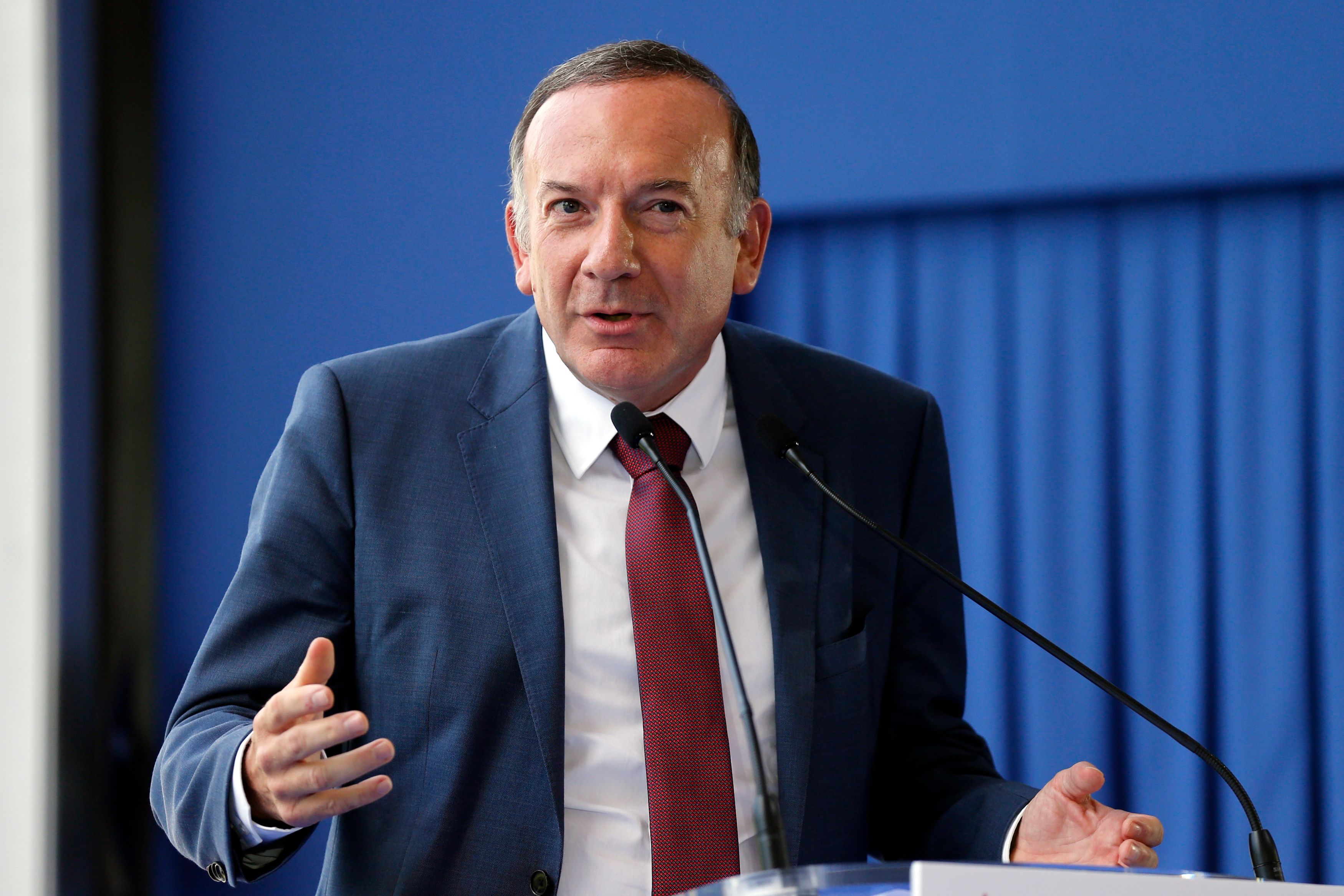 Pierre Gattaz (Medef).
