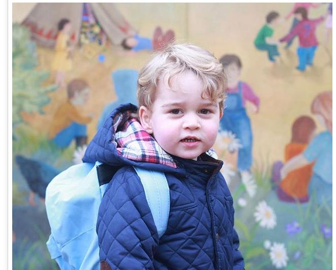 Voici comment ses petits camarades appellent le prince George
