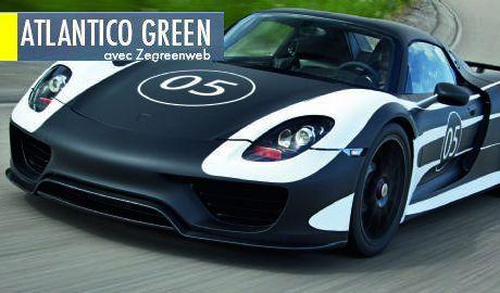 Porsche, ce n'est plus seulement le style et la puissance : c'est aussi l'économie d'énergie !