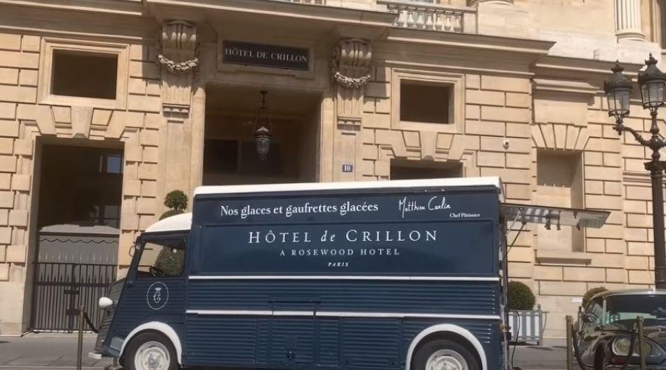 glaces Le Crillon