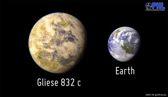 Gliese 832c, une des voisines les plus similaires à la terre