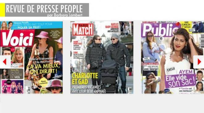 Val T. sans Valentin: mais en maillot de bain!, Julie Gayet nominée aux Césars: fini de jouer?