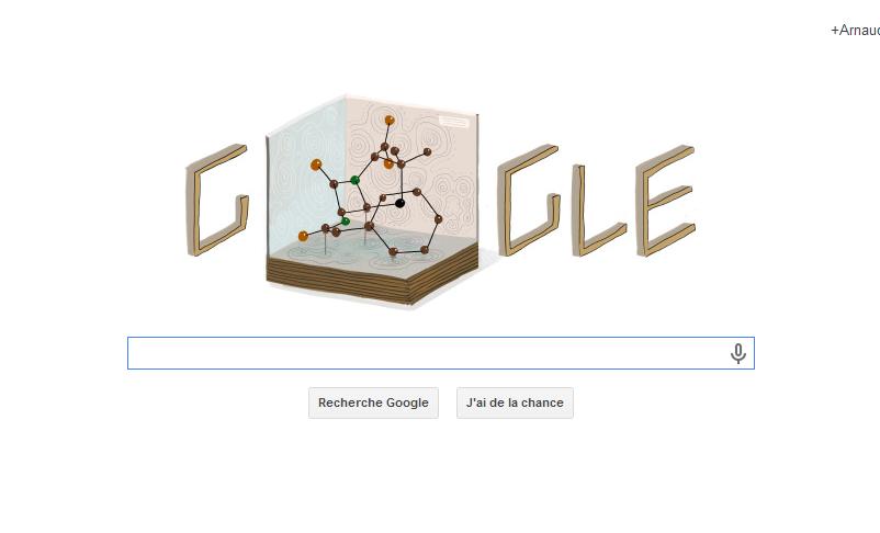 Dorothy Hodgkin, prix Nobel de chimie fête ses 104 ans avec Google