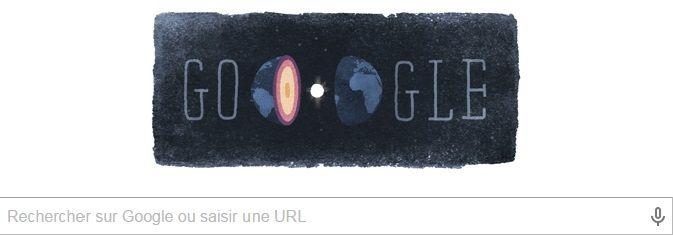 Google Doodle : hommage à la sismologue danoise Inge Lehmann
