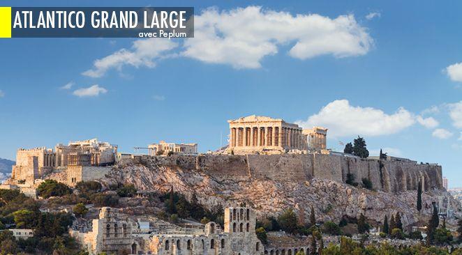 Symbole de la Grèce Antique, l'Acropole veille sur la ville d'Athènes