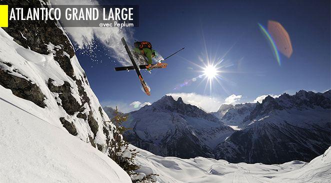 Envie de évaler les pentes des Alpes en compagnie d'un champion du monde de free ride ?