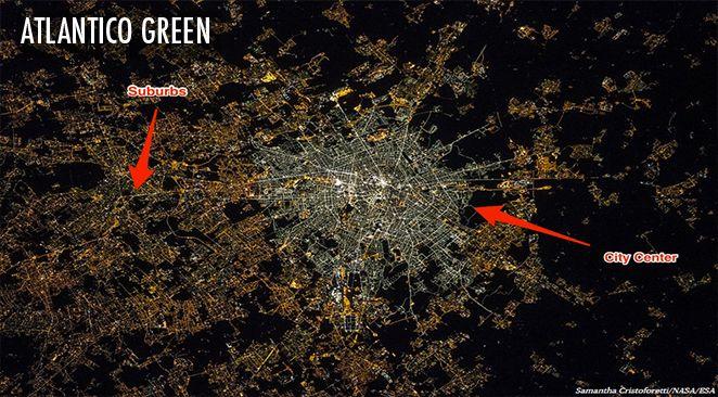 Eclairage urbain aux LED : quand les ampoules économes en énergie génèrent une pollution lumineuse visible depuis l'espace