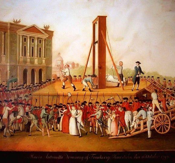 Exécution de Louis XVI.