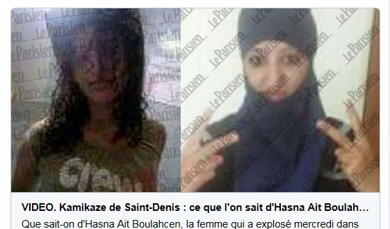 (Selon une nouvelle information publiée ce vendredi, la jeune femme qui s'était radicalisée ne serait en fait pas morte en kamikaze).