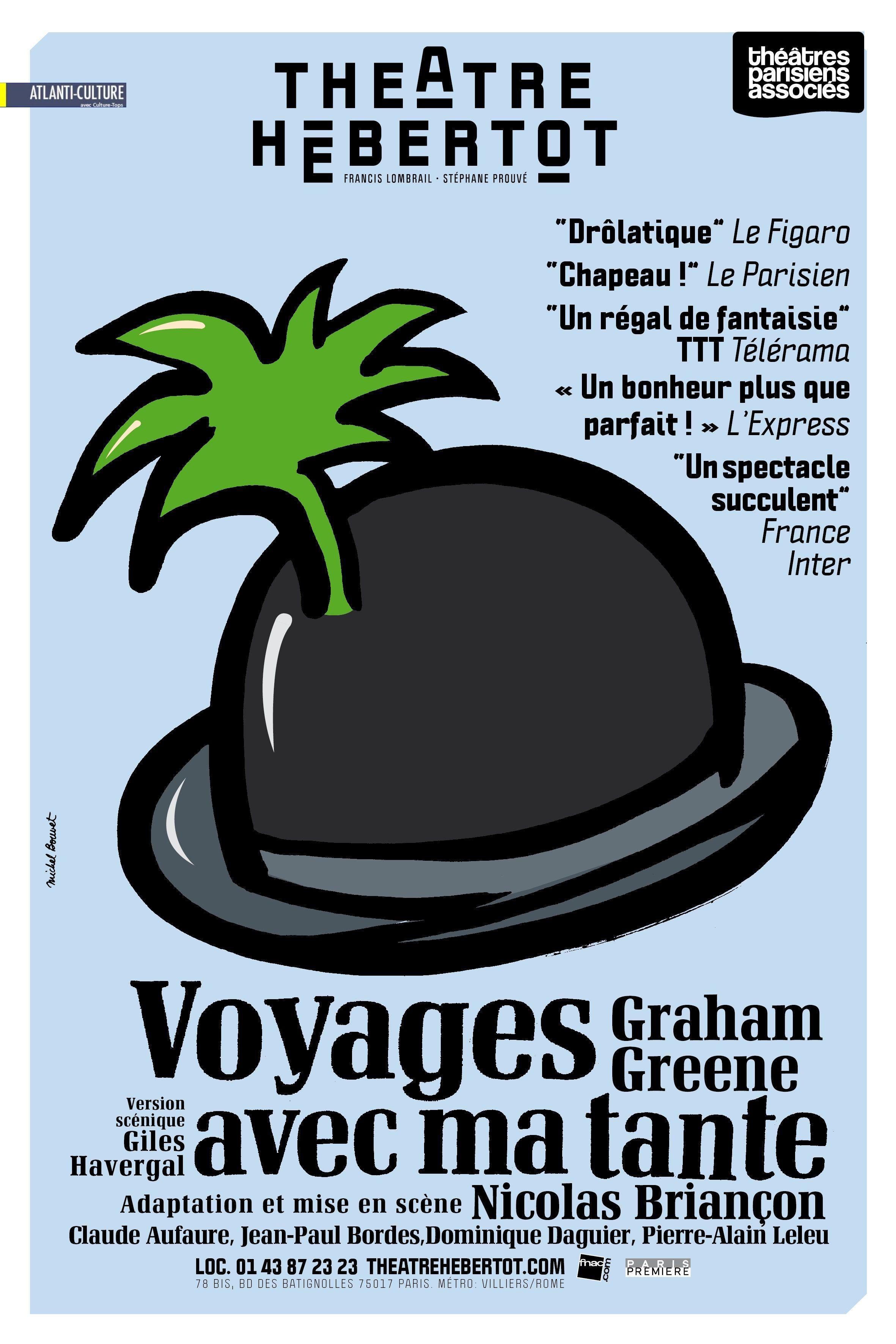 """""""Voyage avec ma tante"""" de Graham Greene : le Top de l'humour british, superbement mis en valeur"""