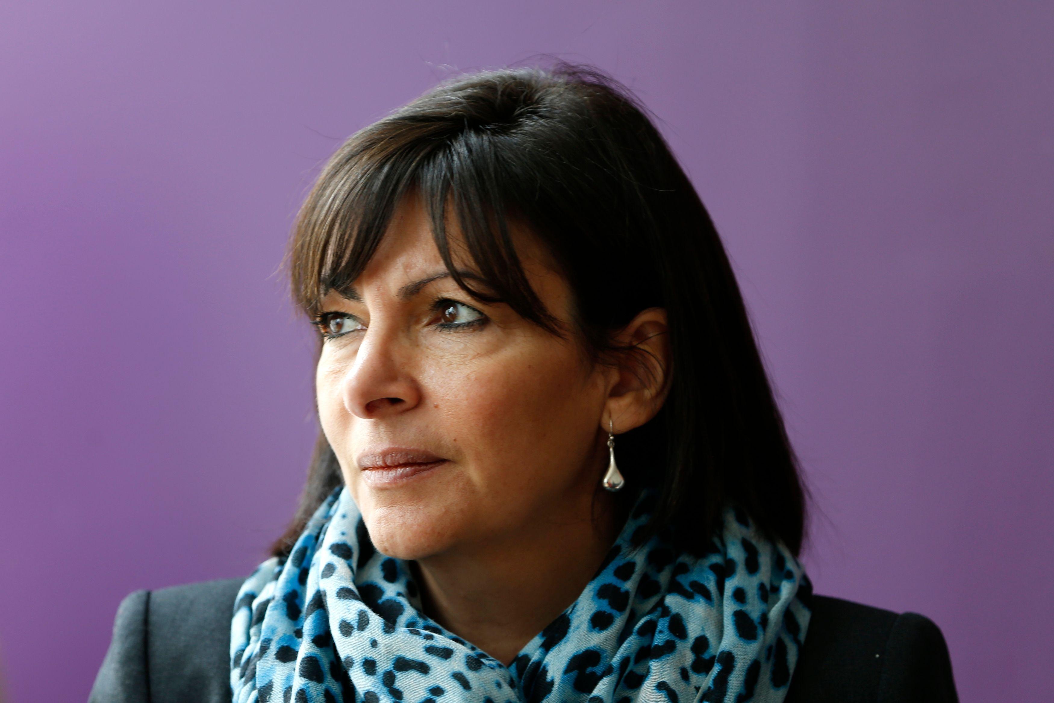 Enrico Macias soutient Anne Hidalgo.