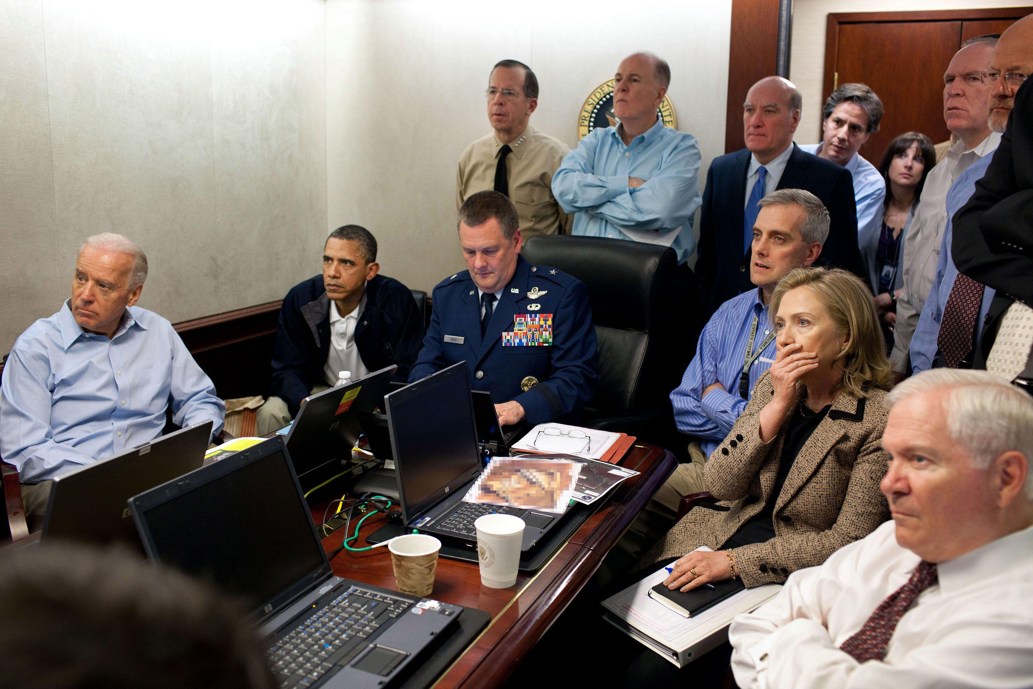 La fameuse photo prise lors de l'assaut final contre Oussama Ben Laden