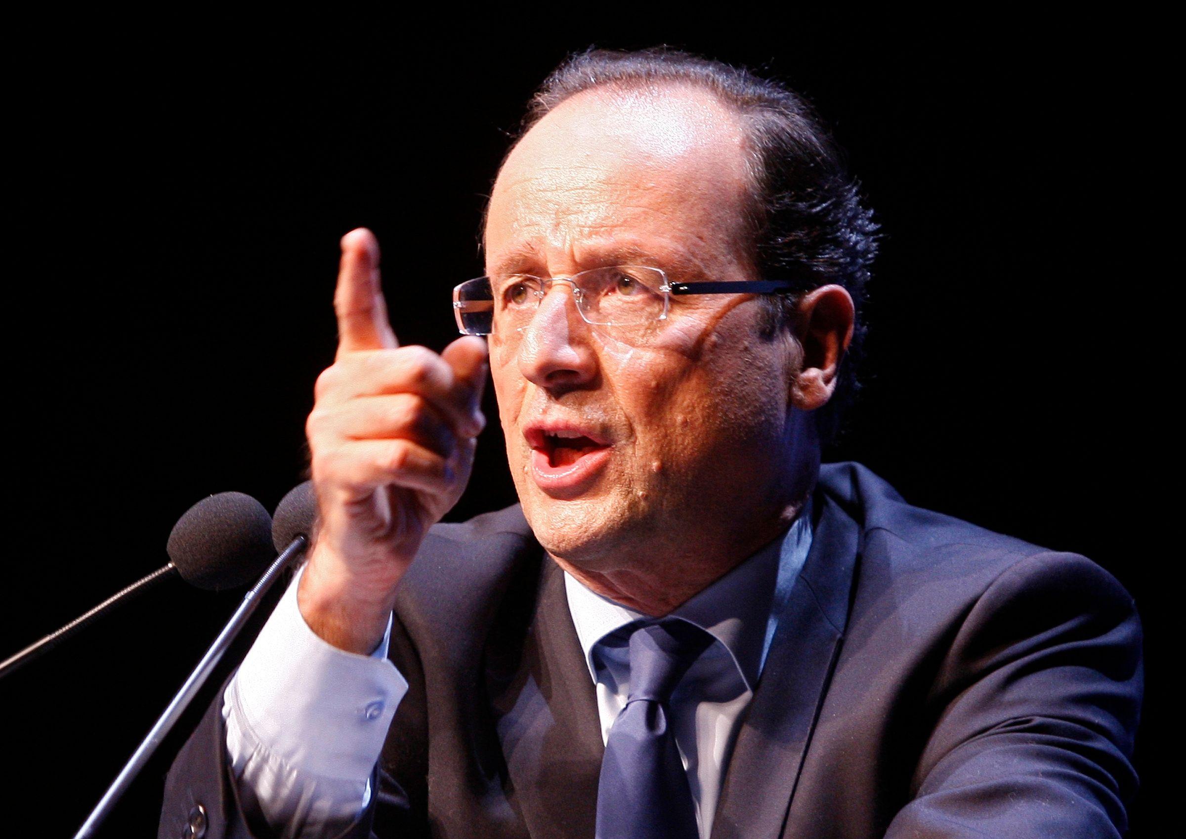 """François Hollande a déclaré au journal Le Monde qu'il était temps de faire """"une pause fiscale"""""""