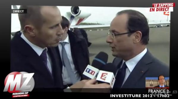 TF1 et France 2, le rapport de force par les micros.