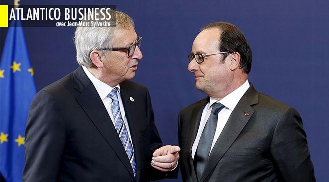 . Selon le JDD, la Commission européenne pourrait relever sa prévision de croissance pour la France cette année. Bruxelles passerait ainsi de 1% à 1,1%.