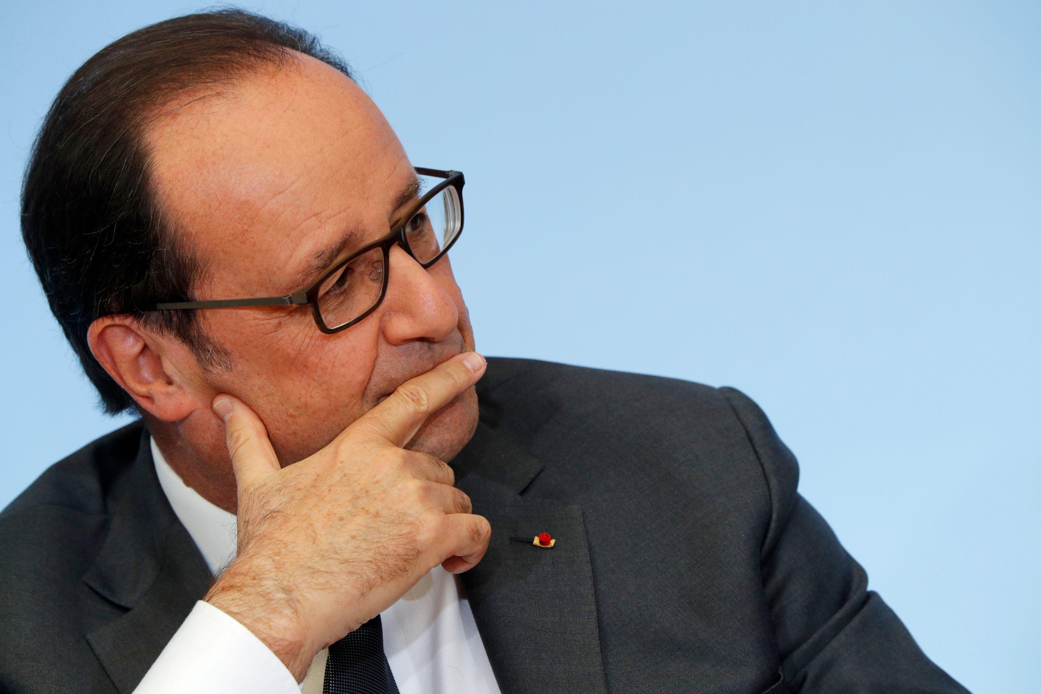 Présidentielle 2017 : 60% des Français estiment que François Hollande ne doit soutenir aucun candidat