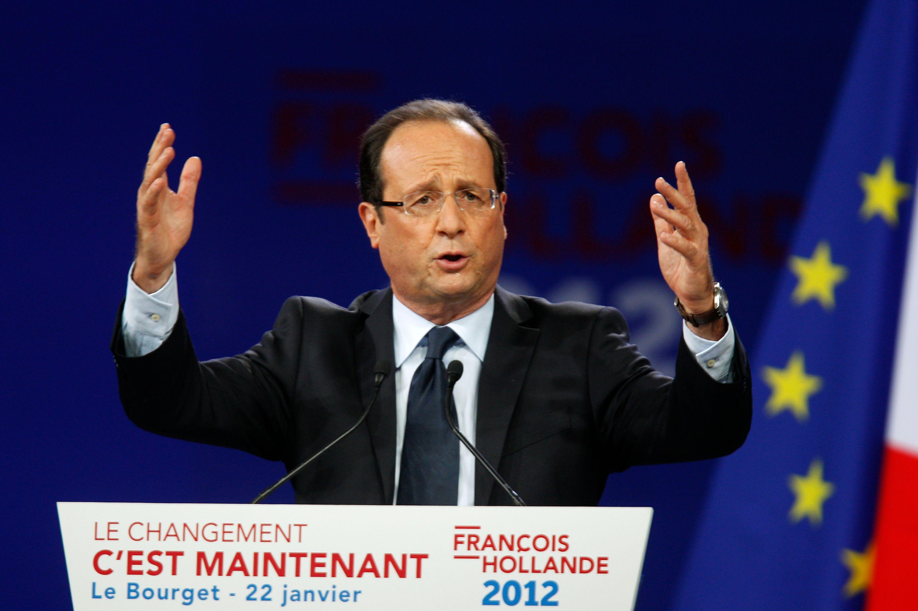 Lui, candidat, promettait d'assurer le rang de la France en veillant à la dépense publique et en relançant la croissance en Europe.