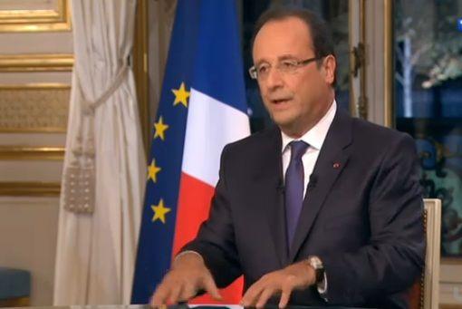 """François Hollande s'autoproclame """"Président des entreprises"""""""