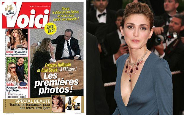 Le magazine Voici a publié des photos de paparazzi dans lesquelles apparait François Hollande en compagnie de Julie Gayet.