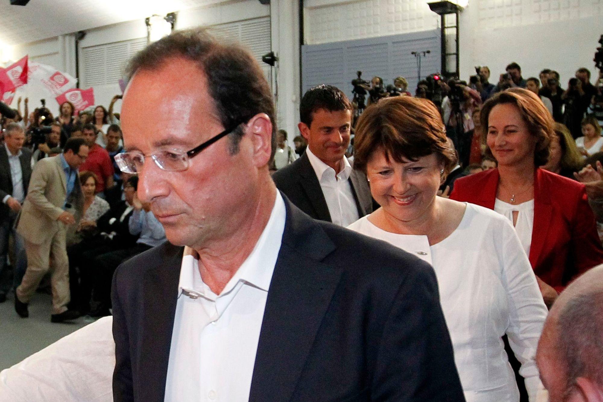 François Hollande est crédité de 31% d'opinons favorables selon le baromètre Ipsos-Le Point paru le lundi 11 février 2013