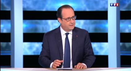 François Hollande face aux Français jeudi soir