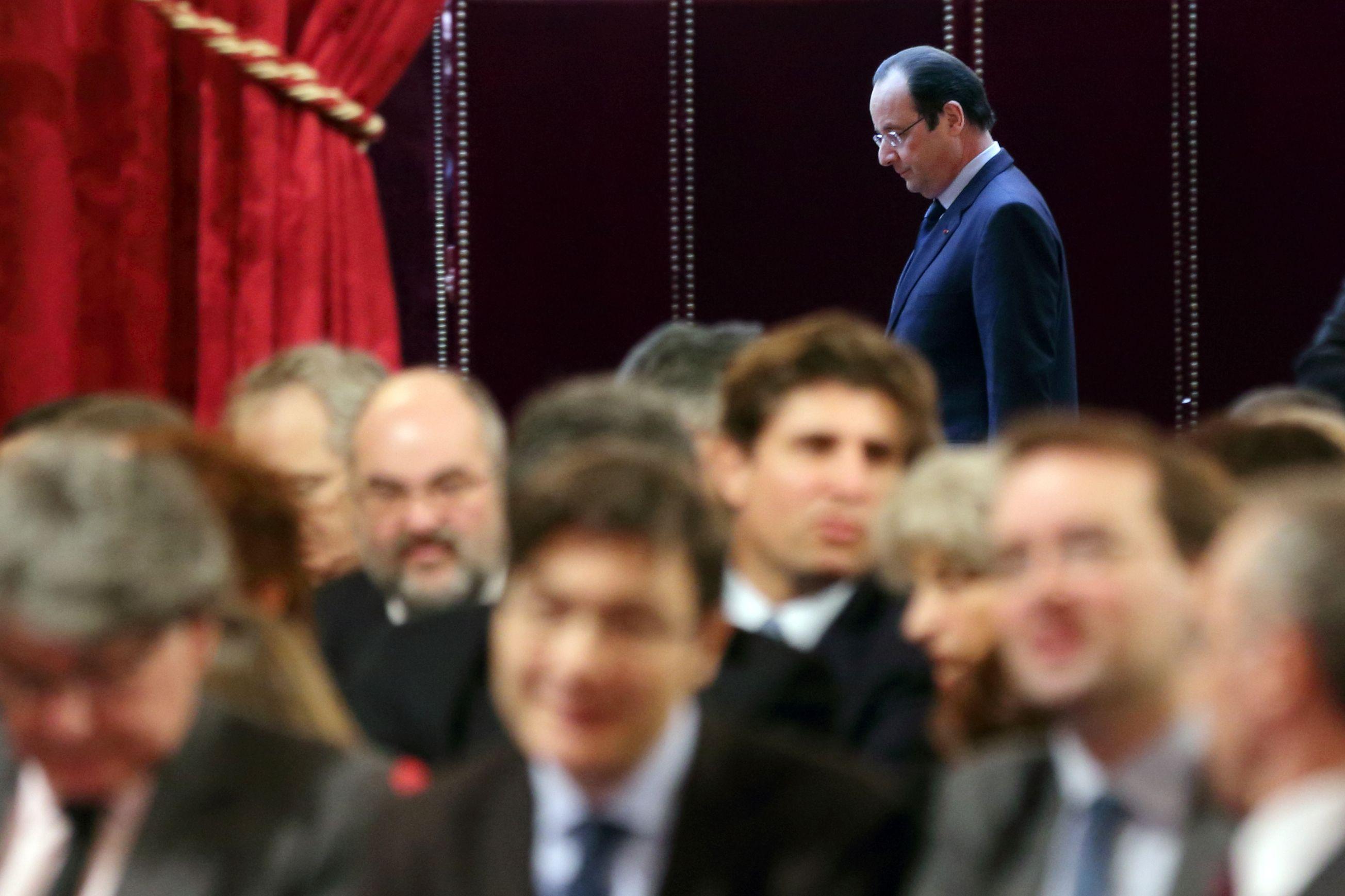 François Hollande semble lentement distiller sa stratégie en vue de l'horizon 2017.