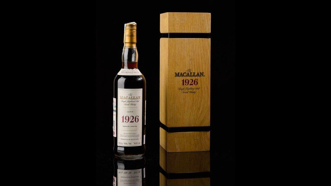 Alcool : le whisky Macallan devient le plus cher au monde avec une bouteille vendue à 1,7 million d'euros