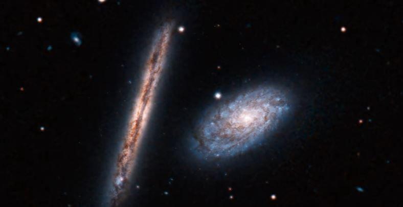 Les magnifiques clichés d'un couple de galaxies spirales