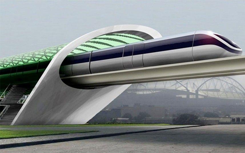 Hyperloop : les premières photos du train du futur