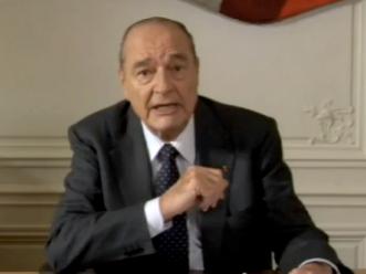 Le capital sympathie dont bénéficie toujours Jacques Chirac s'explique notamment par le refus d'intervenir en Irak aux côtés des américains.