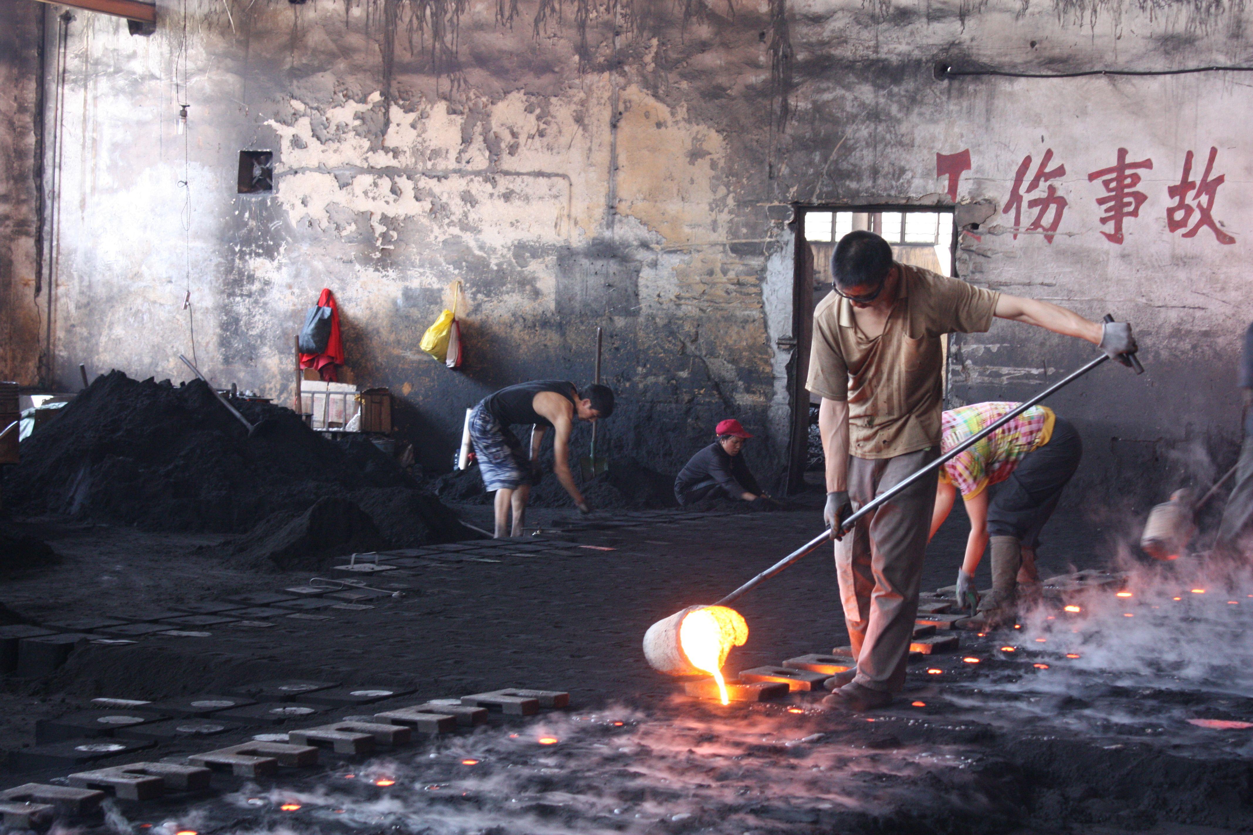 La Commission européenne affirme que la Chine subventionne ses sidérurgistes de façon illégale.