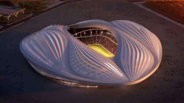Zinédine Zidane et Hassan al-Thawadi, secrétaire général du comité suprême d'organisation Qatar 2022