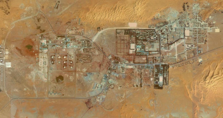 In Amenas, le site gazier sur lequel a eu lieu la prise d'otages