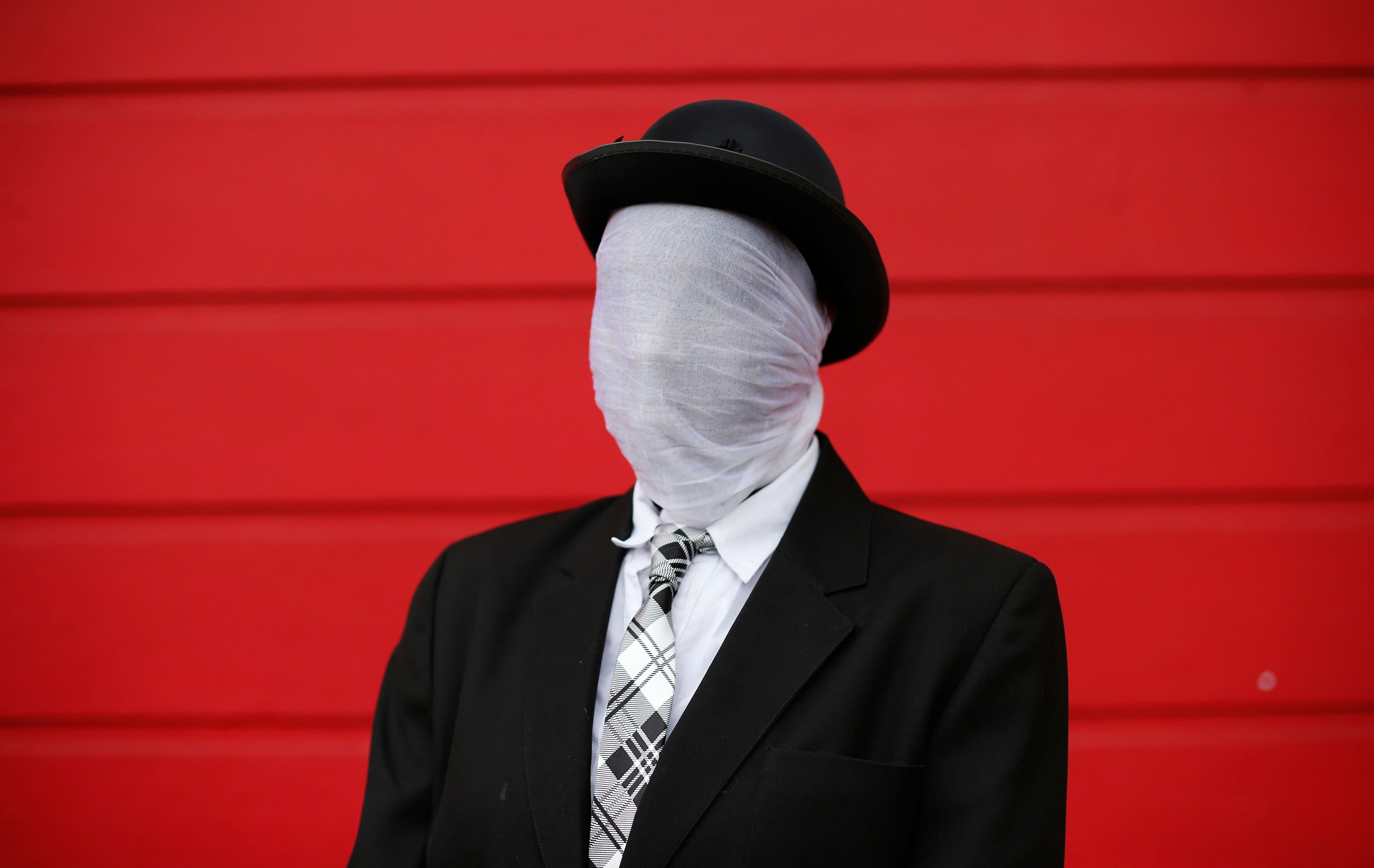 L'homme invisible.