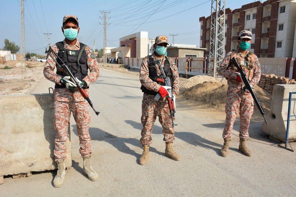Iran armée AFP
