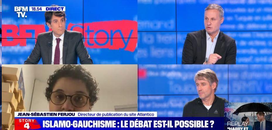 """""""Le débat sur l'islamo-gauchisme est-il possible ?"""" Klaus Kinzler, le professeur de l'IEP de Grenoble, et Jean-Sébastien Ferjou étaient invités sur BFMTV."""