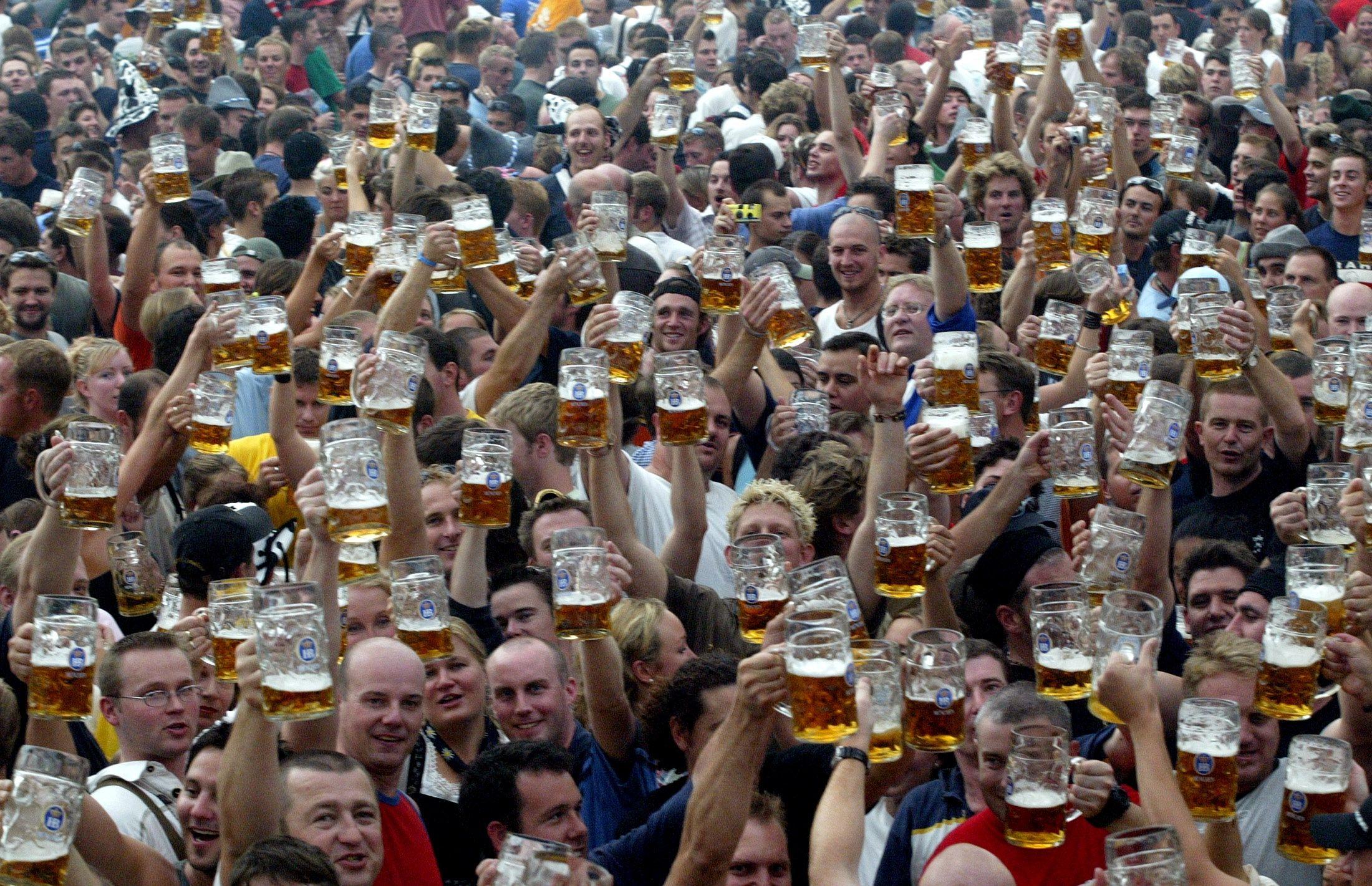 Une fête de la bière