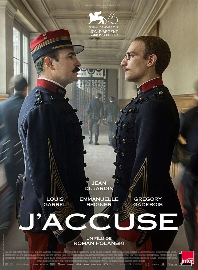 """""""J'Accuse"""" de Roman Polanski  : l'un des films les plus magistraux du réalisateur de Chinatown…"""